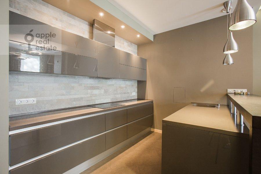 Kitchen of the 4-room apartment at ulitsa Stanislavskogo 11