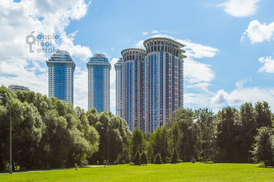 Photo of the house of the 5-room apartment at Minskaya ulitsa 2k1