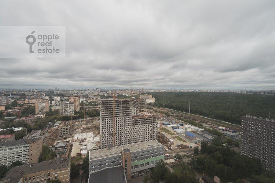 Вид из окна в 4-комнатной квартире по адресу Кочновский проезд 4к1