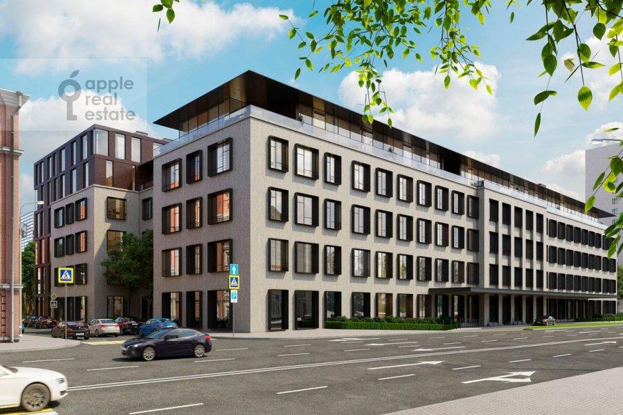3-room apartment at Zubovskaya ul. 7