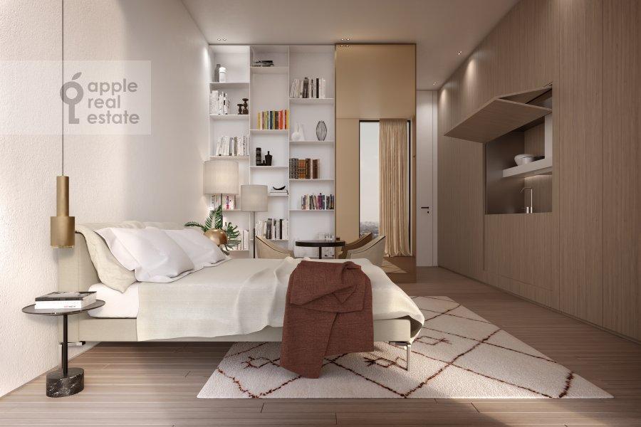 Гостиная в квартире-студии по адресу Зубовская ул. 7B