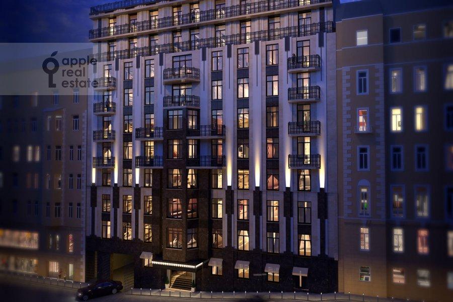Квартира-студия по адресу Звонарский пер. 3/4с1