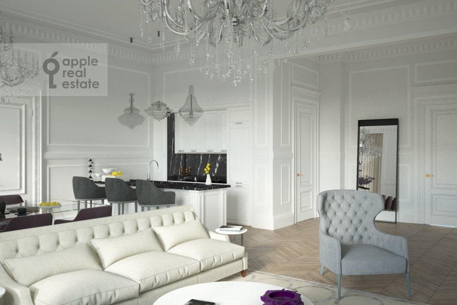 5-room apartment at Khlebnyy pereulok 19