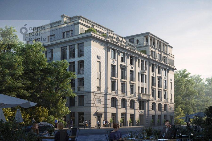 2-комнатная квартира по адресу Малая Бронная улица 15