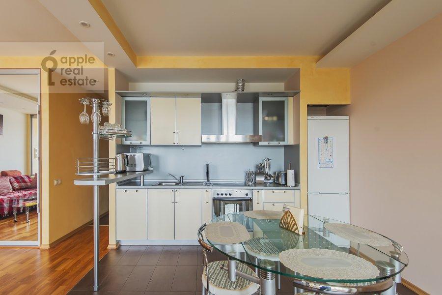 Kitchen of the 2-room apartment at Leningradskoe shosse 52B