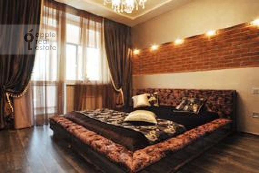 Спальня в 2-комнатной квартире по адресу Ружейный пер. 3