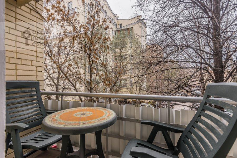 Балкон / Терраса / Лоджия в 2-комнатной квартире по адресу Бронная Большая ул. 9