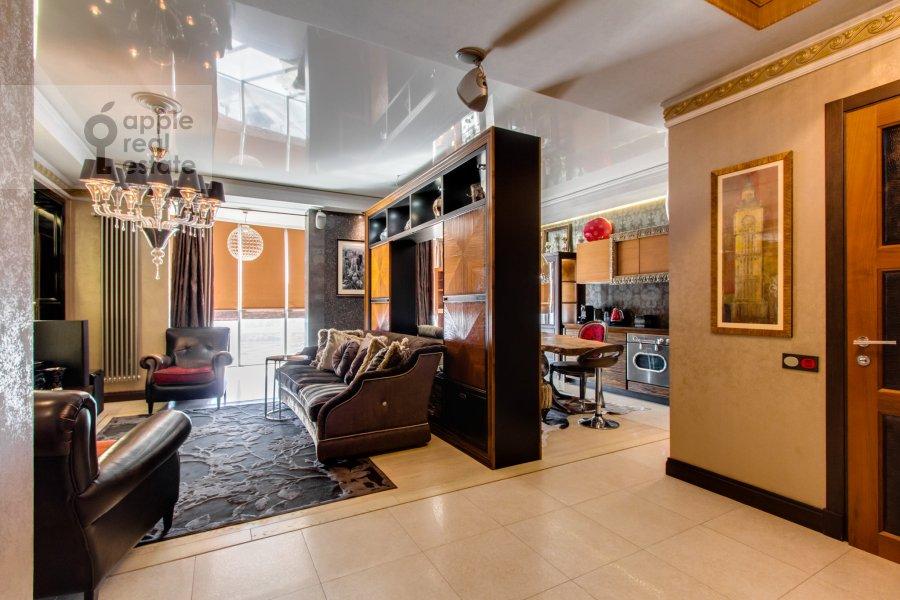 Гостиная в 2-комнатной квартире по адресу Красногвардейская 3-я ул. 3