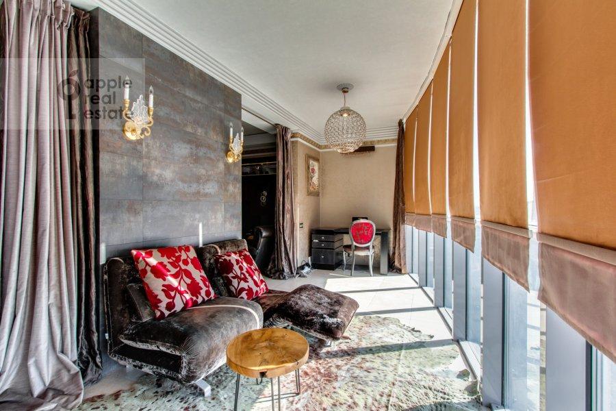 Балкон / Терраса / Лоджия в 2-комнатной квартире по адресу Красногвардейская 3-я ул. 3