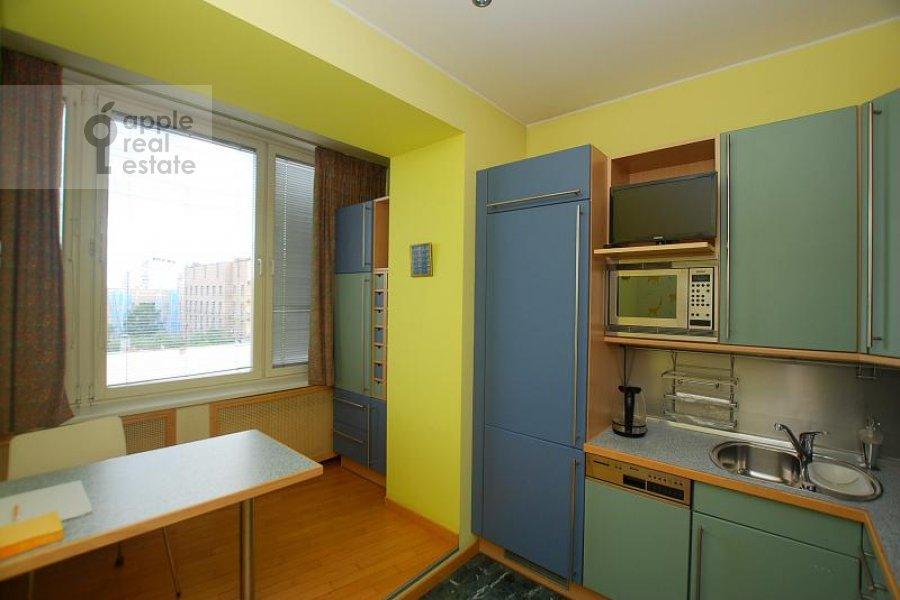 Kitchen of the 2-room apartment at Skakovaya ul. 5