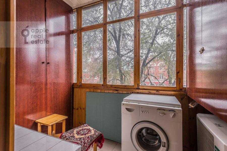 Balcony / Terrace / Loggia of the 2-room apartment at Lesnaya ul. 45
