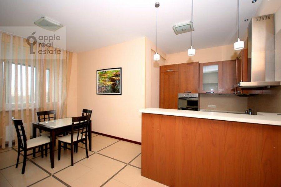 Kitchen of the 3-room apartment at Koshtoyantsa ul. 20k2