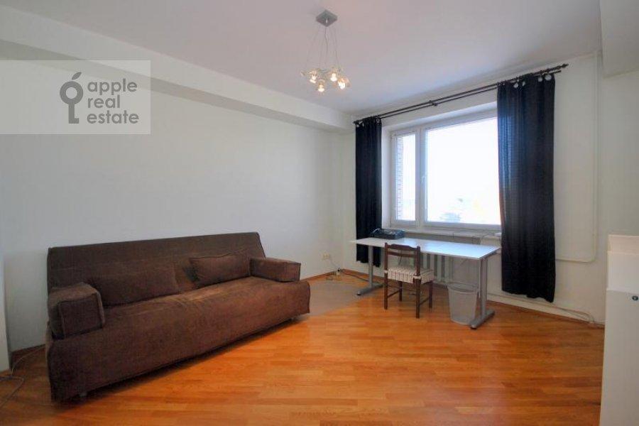 Bedroom of the 3-room apartment at Dmitrovka Malaya ul. 15