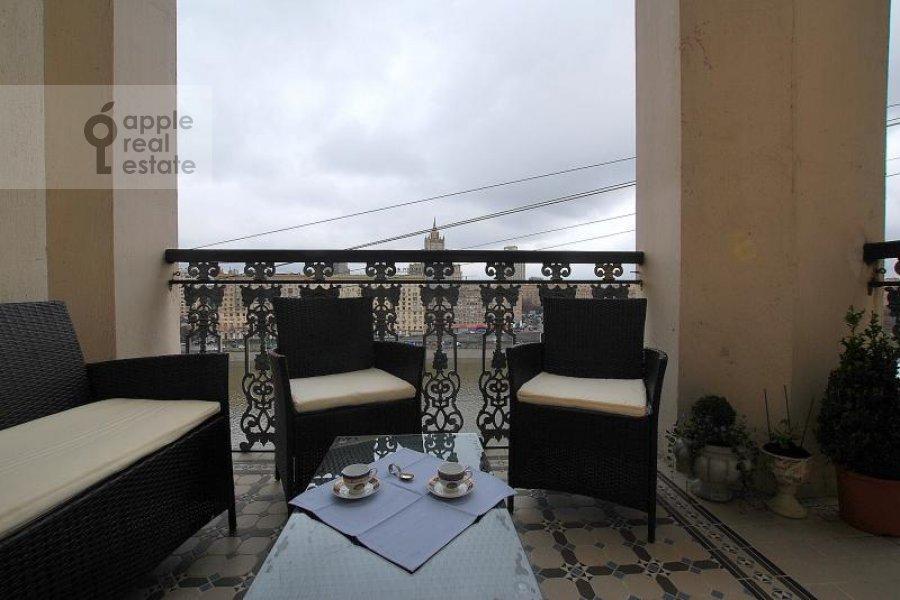 Балкон / Терраса / Лоджия в 4-комнатной квартире по адресу Тараса Шевченко наб. 1