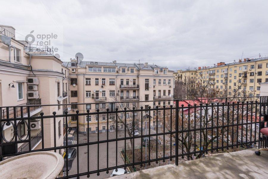 Балкон / Терраса / Лоджия в 6-комнатной квартире по адресу Комсомольский пр-т. 3
