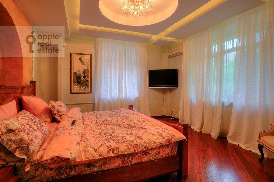Bedroom of the 3-room apartment at Tverskaya-Yamskaya 2-ya ul. 28