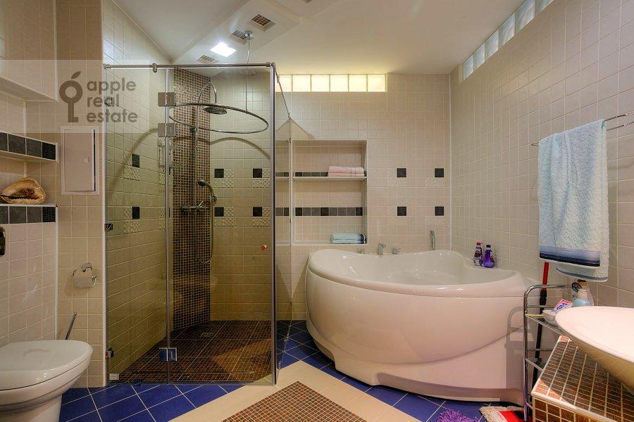 Bathroom of the 3-room apartment at Tverskaya-Yamskaya 2-ya ul. 28
