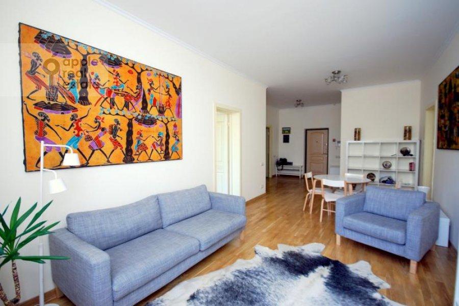 Гостиная в 3-комнатной квартире по адресу Масловка Верхняя ул. 28к2
