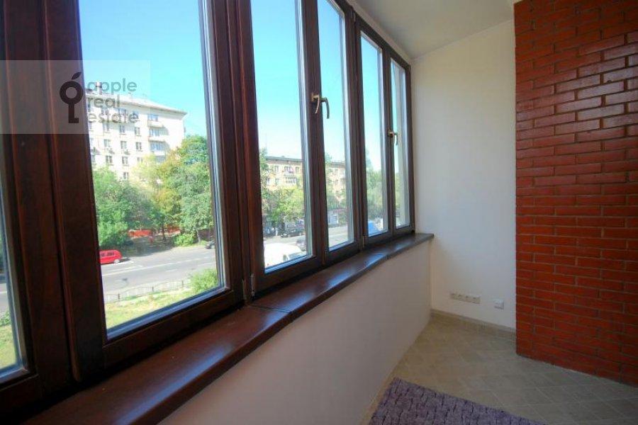 Балкон / Терраса / Лоджия в 3-комнатной квартире по адресу Масловка Верхняя ул. 28к2