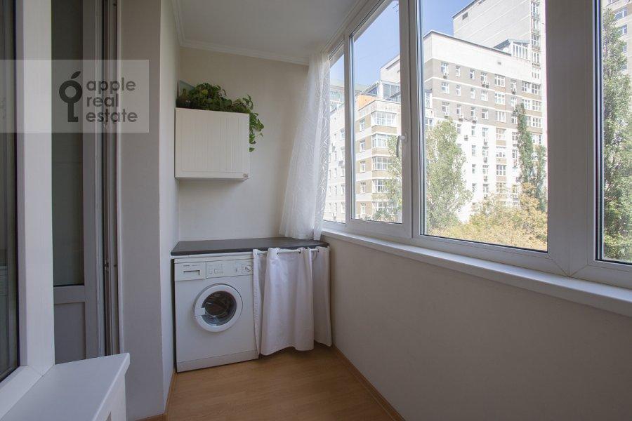 Balcony / Terrace / Loggia of the 3-room apartment at 2-ya Tverskaya-Yamskaya ulitsa 54