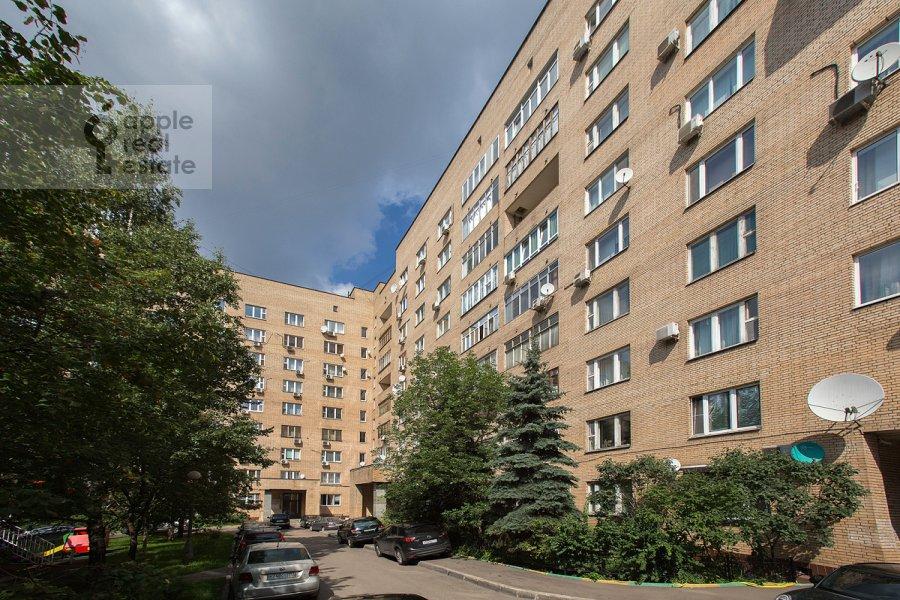 Photo of the house of the 3-room apartment at 2-ya Tverskaya-Yamskaya ulitsa 54