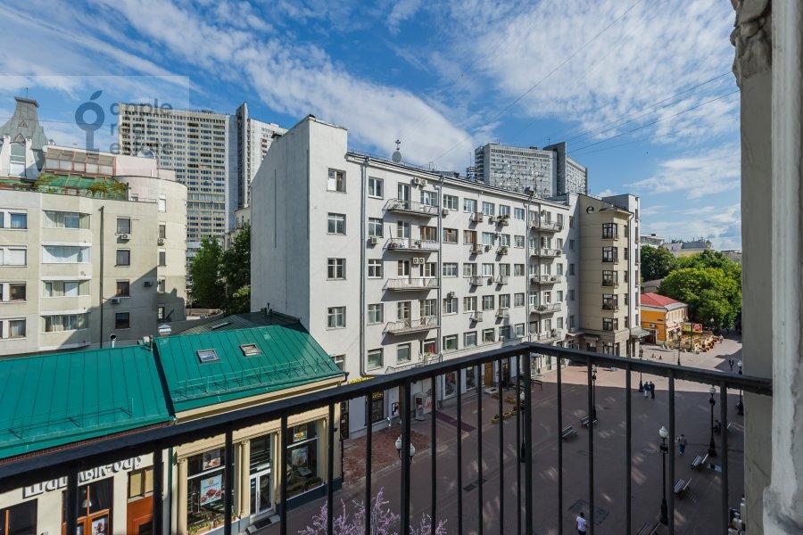 Balcony / Terrace / Loggia of the 5-room apartment at Arbat ul. 29