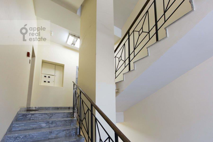 Balcony / Terrace / Loggia of the 3-room apartment at Malyy Tolmachevskiy pereulok 8