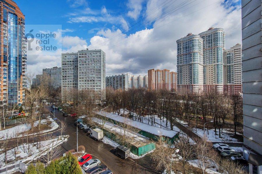 Вид из окна в 6-комнатной квартире по адресу Ленинский пр-т. 128к1
