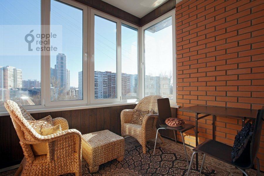 Балкон / Терраса / Лоджия в 6-комнатной квартире по адресу Ленинский пр-т. 128к1