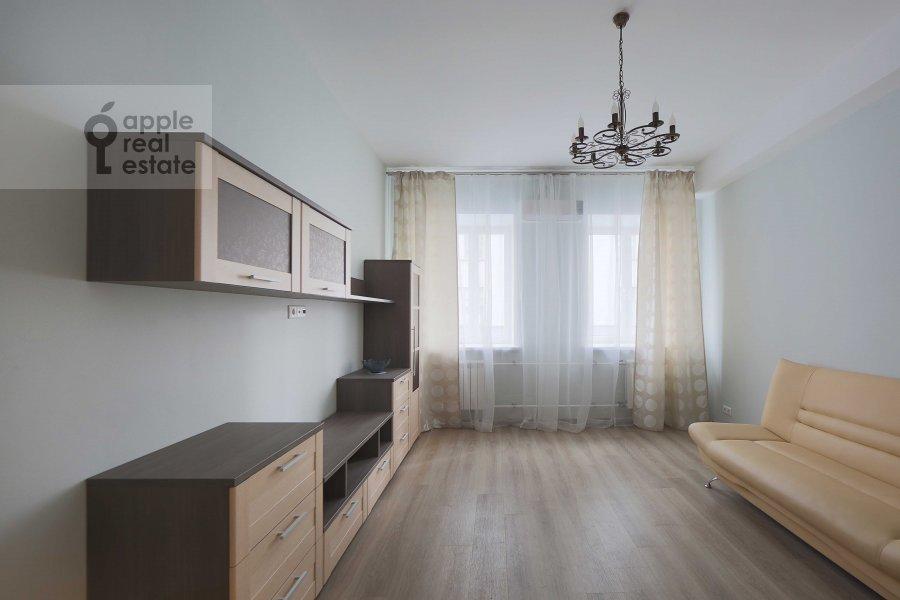 Гостиная в 3-комнатной квартире по адресу Татарская Большая ул. 25-27с1