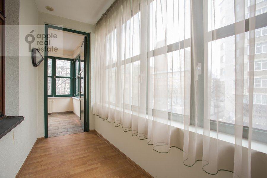 Balcony / Terrace / Loggia of the 4-room apartment at Lesnaya ul. 6k1