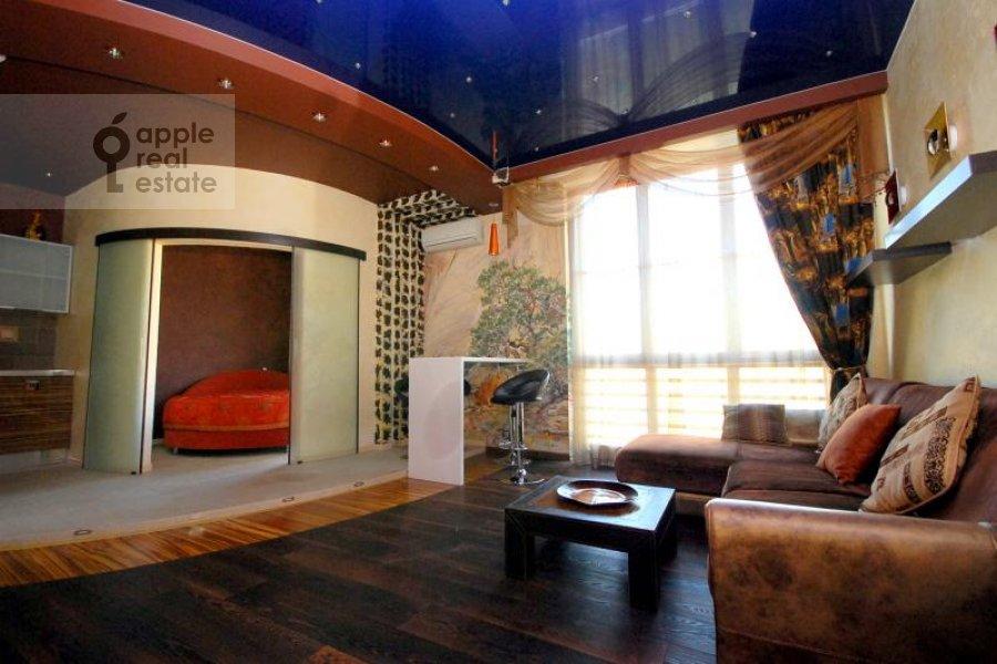 Гостиная в 2-комнатной квартире по адресу Руновский пер. 10