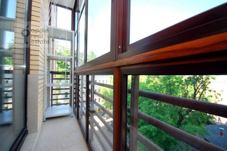 Балкон / Терраса / Лоджия в 2-комнатной квартире по адресу Руновский пер. 10