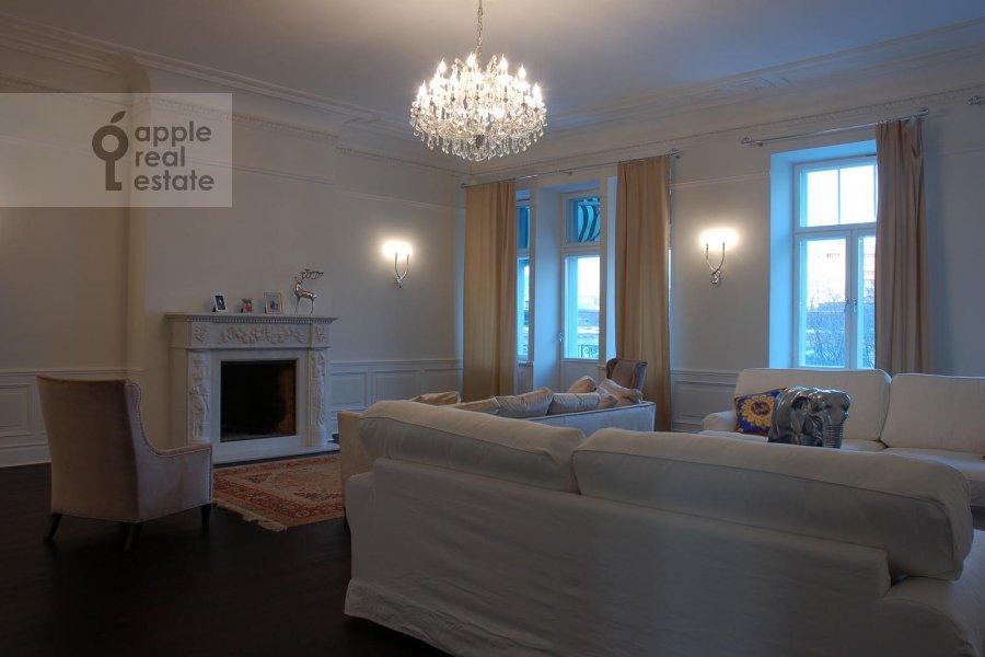Гостиная в 5-комнатной квартире по адресу М. Левшинский пер. 7