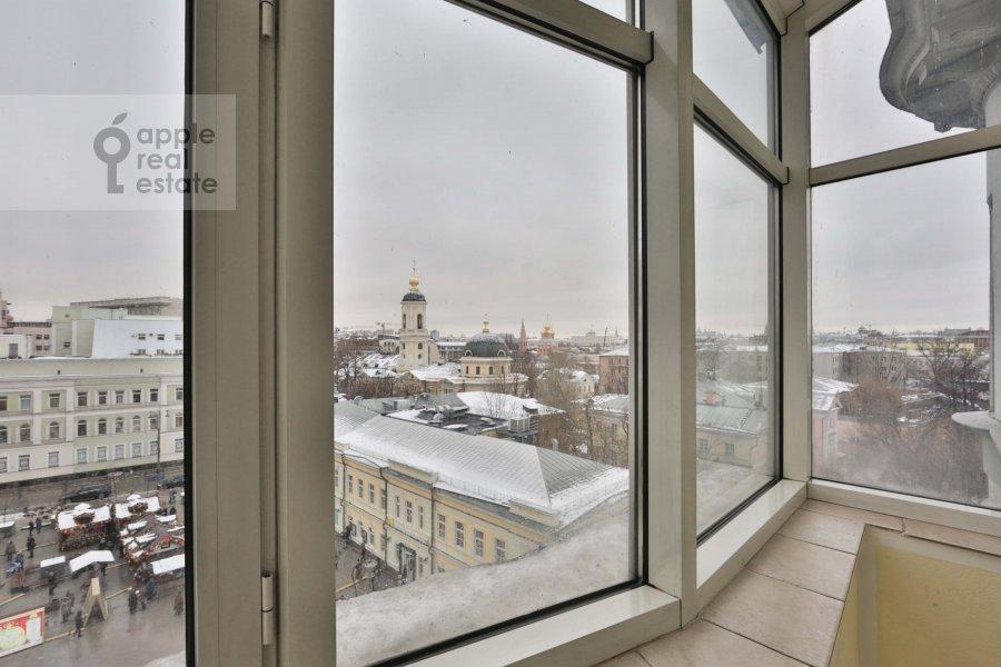 Балкон / Терраса / Лоджия в 4-комнатной квартире по адресу Климентовский пер. 9/1