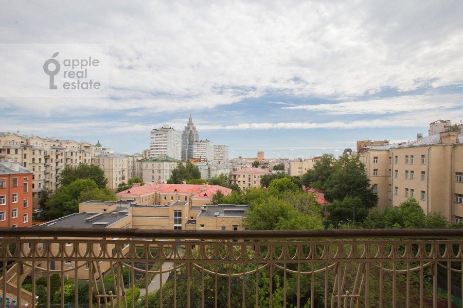 Balcony / Terrace / Loggia of the 5-room apartment at Tverskaya ulitsa 28k2