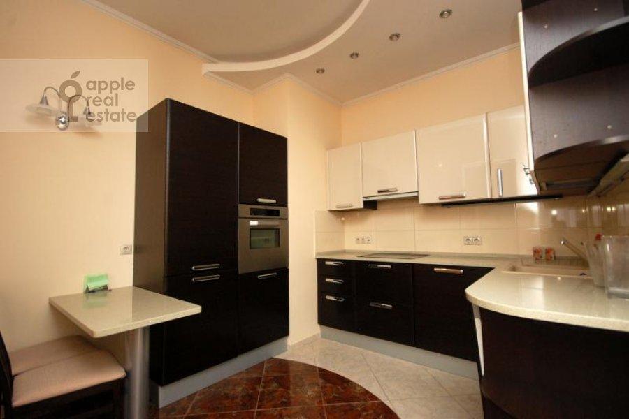 Кухня в 3-комнатной квартире по адресу Маршала Соколовского ул. 5