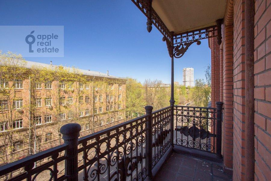 Balcony / Terrace / Loggia of the 3-room apartment at Raspletina ul. 14