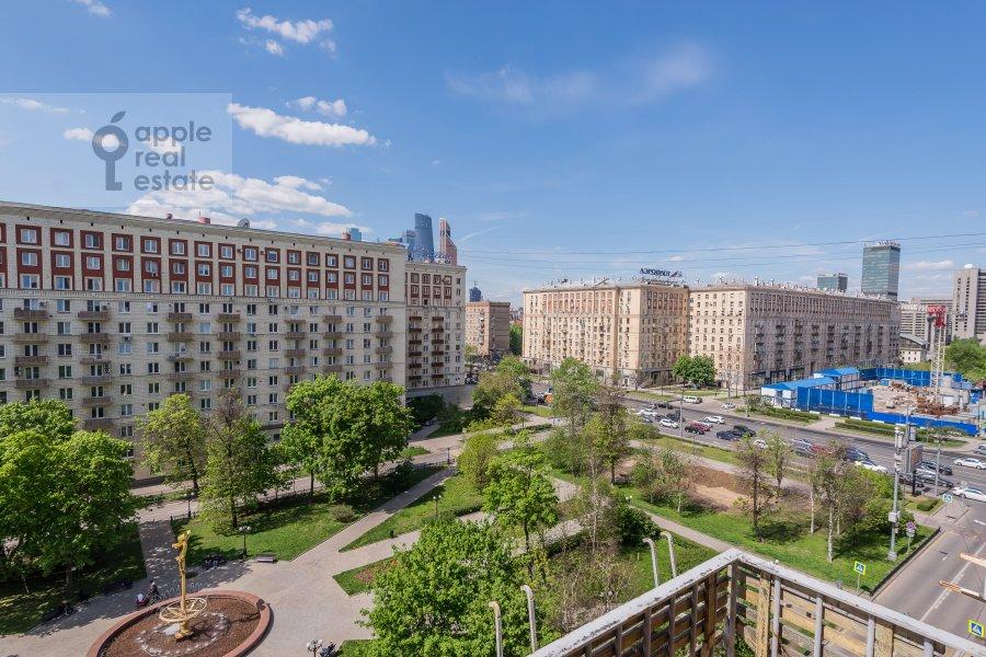 Вид из окна в 2-комнатной квартире по адресу Кутузовский просп. 5/3