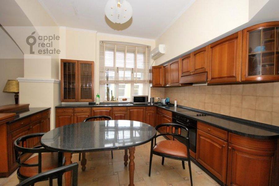 Kitchen of the 3-room apartment at Trubnikovskiy per. 24s1