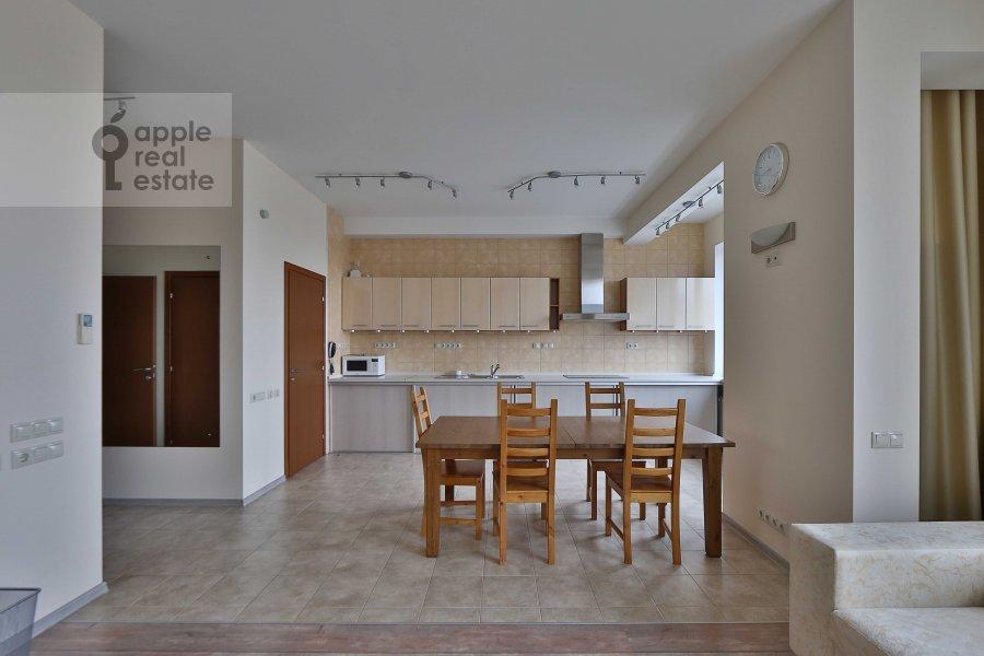 Kitchen of the 4-room apartment at Marshala Biryuzova ul. 31