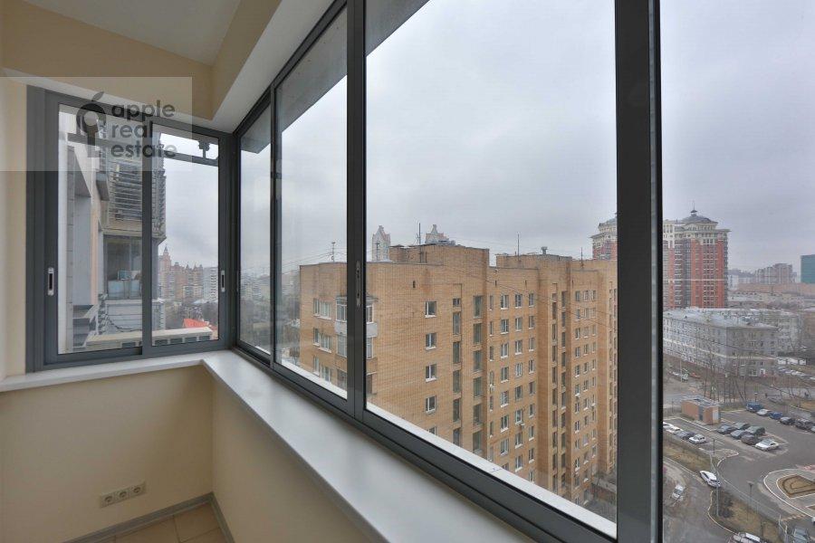 Balcony / Terrace / Loggia of the 4-room apartment at Marshala Biryuzova ul. 31