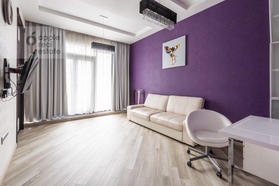 Children's room / Cabinet of the 3-room apartment at Bol'shaya Gruzinskaya ul. 69