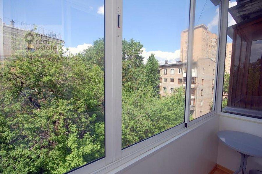 Balcony / Terrace / Loggia of the 2-room apartment at Skakovaya ul. 18k2