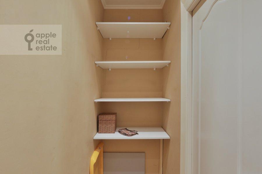 Walk-in closet / Laundry room / Storage room of the 2-room apartment at Khoroshevskoe shosse 16k2