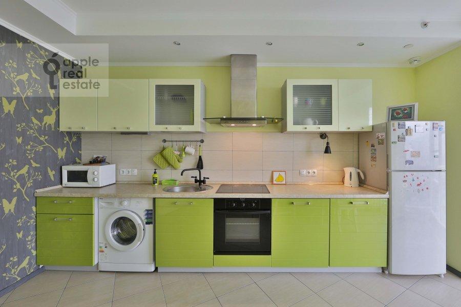 Kitchen of the 2-room apartment at Khoroshevskoe shosse 16k2