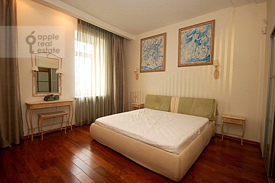 Bedroom of the 3-room apartment at Ordynka Bol'shaya ul. 67