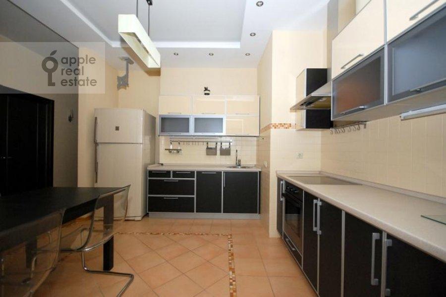 Kitchen of the 3-room apartment at Kochnovskiy pr. 4