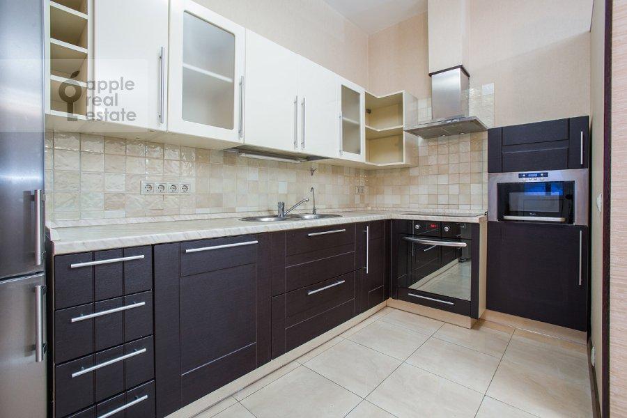 Kitchen of the 4-room apartment at Nakhimovskiy prosp. 56