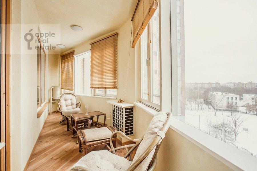 Balcony / Terrace / Loggia of the 4-room apartment at Mozhayskoe shosse 2
